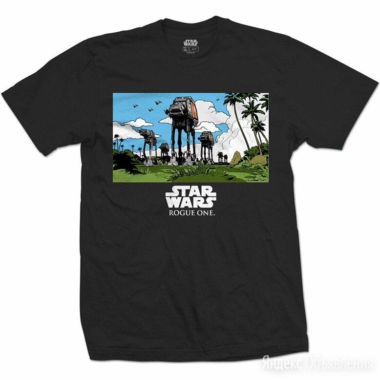 Футболка Star Wars - Rogue One: At-At March (XL) США по цене 1000₽ - Футболки и майки, фото 0