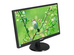Мониторы - Монитор ЖК Retail 18.5 Philips 193V5LSB2/10(62) че, 0