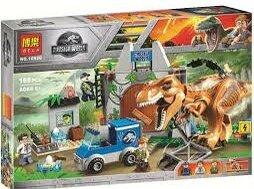 Конструкторы - Конструктор Bela аналог Лего Dinosaur World Побег, 0