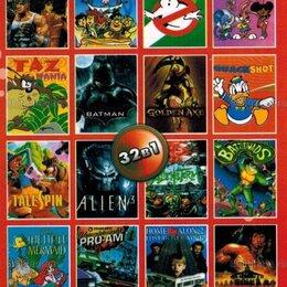 Игры для приставок и ПК - Картридж для Sega 32 игры, 0