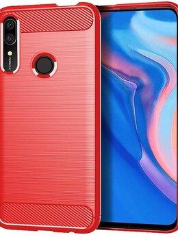Чехлы - Чехол красного цвета на Honor 9X (9X Pro), серия…, 0