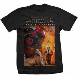 Футболки и майки - Футболка Star Wars - Episode VII: Dameron Composition (XL) США, 0