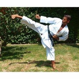Аксессуары и принадлежности - Кимоно для карате KAMIKAZE NEW LIFE SHIHAN размер 185 см, 0