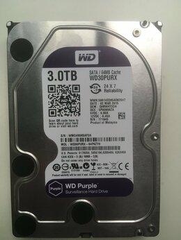 Внутренние жесткие диски - Жесткий диск 3Тб WD Purple, 0