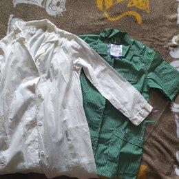Одежда и аксессуары - Халат рабочий хб, 0