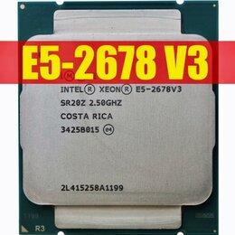 Процессоры (CPU) - Процессор Intel Xeon E5 2678 v3/LGA 2011-3, 0