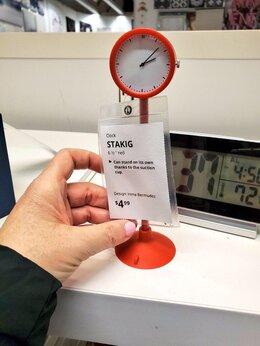 Часы настольные и каминные - Новые часы Стакиг Икеа на присоске, 0