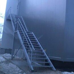 Противопожарное оборудование и комплектующие - Лестница пожарная, промышленная, эвакуационная, 0