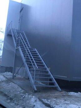 Противопожарное оборудование - Лестница пожарная, промышленная, эвакуационная, 0
