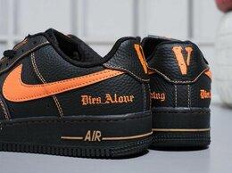 Кроссовки и кеды - Nike air Fоrсе оff Black Orange, 0
