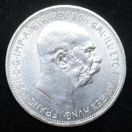 Монеты - 2 КОРОНЫ 1912 АВСТРО ВЕНГРИЯ ФРАНЦ ИОСИФ, 0