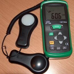 Измерительные инструменты и приборы - Измеритель освещенности (люксметр) CEM DT-1308, 0