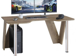 Компьютерные и письменные столы - Уценка!! Игровой компьютерный стол кст-116 дуб…, 0