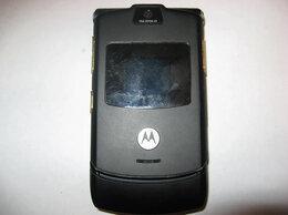 Мобильные телефоны - Motorola V3i Black Gold Edition оригинал, 0