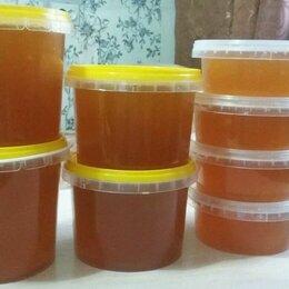 Продукты - Мед цветочный натуральный луговой с личной пасеки , 0