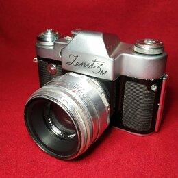 Пленочные фотоаппараты - Плёночный фотоаппарат Зенит-3М объектив Гелиос-44, 0