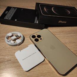 Мобильные телефоны - Айфон 12 Про Мах цвет золото , 0