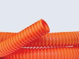 Кабеленесущие системы - Труба гофрированная ПНД 25 мм DKC с протяжкой,…, 0