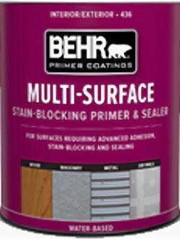 Пропитки - BEHR Multi-Surface грунтовка и герметик  №436…, 0