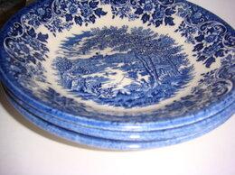 Тарелки - Тарелки для супа Англия Churchill 4 шт винтаж…, 0