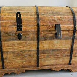 Сундуки - Сундук деревянный из сосны , 0