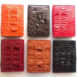 Обложки для документов - Обложка на паспорт из кожи крокодила, 0