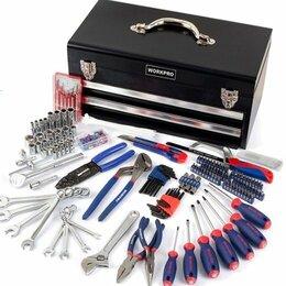 Наборы инструментов и оснастки - Набор инструментов в металлическом ящике, 0