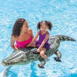 Аксессуары для плавания - Игрушка для плавания «Крокодил», 170 х 86 см, 0
