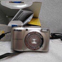 Фотоаппараты - Фотоаппарат компактный Nikon Coolpix L31 Silver, 0