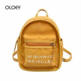 Сумки - Винтажная сумка-рюкзак из замши, 0