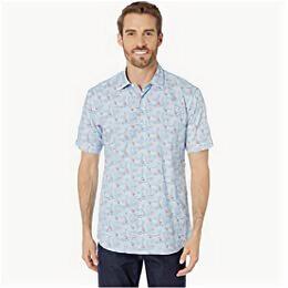 Рубашки - Bugatchi хлопок короткий рукав XL, 0