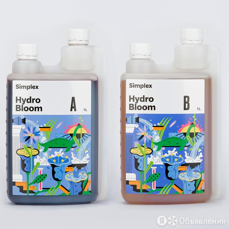 Simplex Hydro Bloom (А + В) 0.5 л по цене 1300₽ - Комнатные растения, фото 0