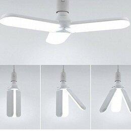 Лампочки - Светодиодная складная лампа 30 вт Е 27., 0