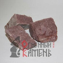 Камни для печей - Малиновый кварцит колотый 10 кг камень для бани, 0