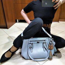 Сумки - 🔴 ZalMan сумка с подвесками и плечевым ремнем, 0