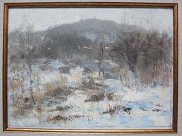Картины, постеры, гобелены, панно - натюрморт Зима,оргалит,масло, 0