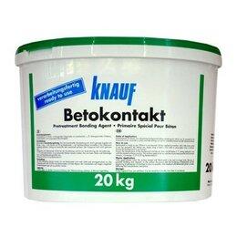 Строительные смеси и сыпучие материалы - knauf Бетоконтакт кнауф 20 кг, 0