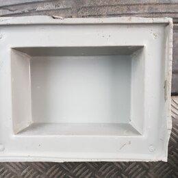 Тротуарная плитка, бордюр - Форма для изготовления брусчатки.  Прямоугольная.   Есть в количестве., 0