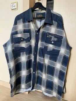 Рубашки - Рубашка мужская с длинным рукавом p. 4xl, 0