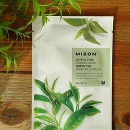 Маски - Маска тканевая с зеленым чаем Mizon Корея, 0