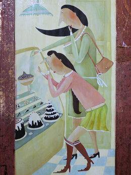 Картины, постеры, гобелены, панно - Феина картина. Только по одному эклеру., 0