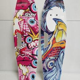 Скейтборды и лонгборды - Круизер со светящимися колесами 66 см, 0