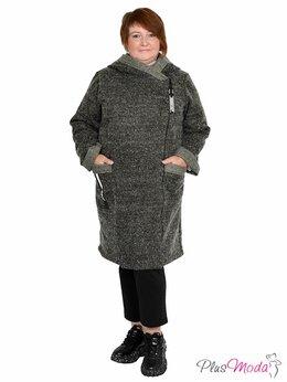 Футболки и топы - Пальто с капюшоном больших размеров №717, 0