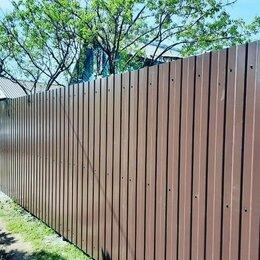 Заборы и ворота - Установка Забора из профнастила, сетки рабицы, 0
