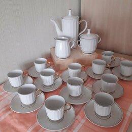 Сервизы и наборы - Сервиз кофейный на 12 персон новый  сделан в СССР 1980г , 0