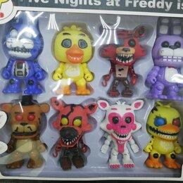 Мягкие игрушки - Фигурки Пять ночей Фредди 8шт, 0