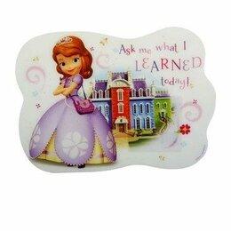 Рюкзаки, ранцы, сумки - Коврик для лепки Принцесса София, 0