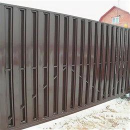 Заборы и ворота - Забор из профлиста с полимерным покрытием, 0