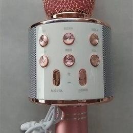 Микрофоны и усилители голоса - Караоке микрофон 858, 0