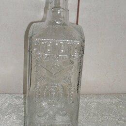 Бутылки - Бутыль 1 литр квадратное дно, 0
